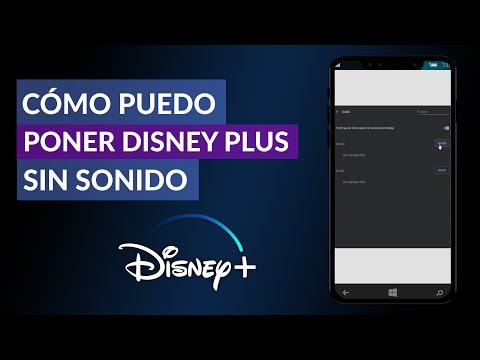 Cómo Puedo Poner Disney Plus sin Sonido – Quitar Sonido Disney Plus