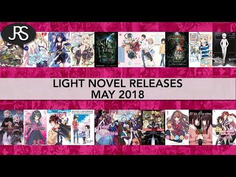 Light Novel Releases for May 2018