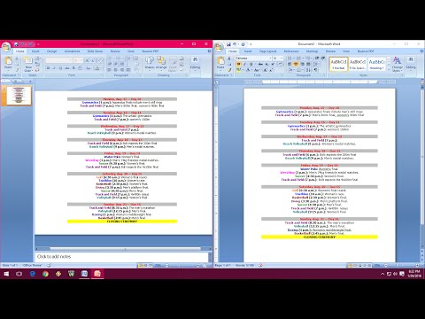 How To Do Exact Copy & Paste From Word To PowerPoint
