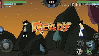 Chơi game 7 viên ngọc rồng siêu cấp - tập 11   Black Goku đánh nhau với Super Xayda Hồng