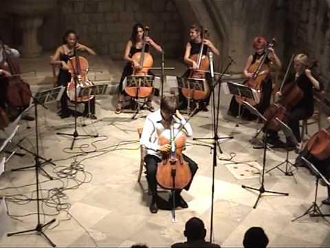 Luka Šulić plays de Falla Ritual Fire Dance with Cello Ensemble