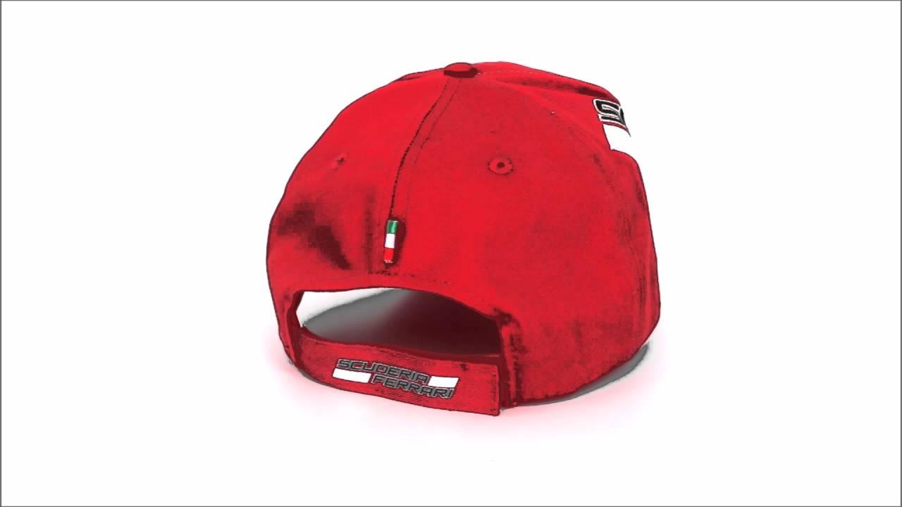 gorra puma ferrari roja
