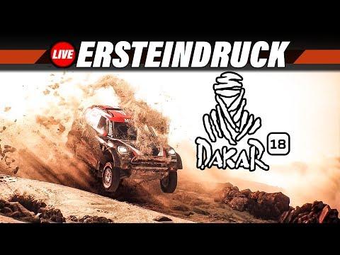 DAKAR 18 Gameplay German #1 - Ersteindruck aus Peru | Dakar 2018 PC Live Let's Play Deutsch