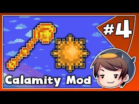 SOLAR SUMMON! // Calamity Expert Playthrough // Ep. 4 // Terraria 1.3.5 HD