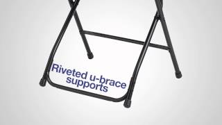 Samsonite 2000 Series Injection Mold Fanback Folding Chair