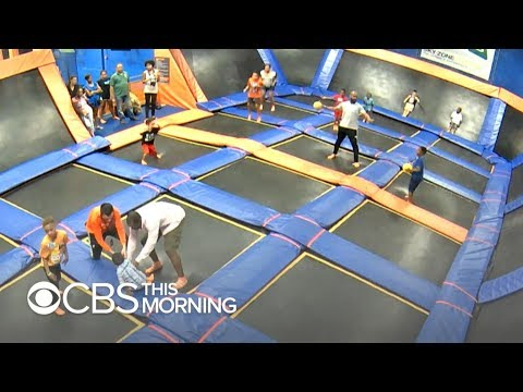 Trampoline parks jump in popularity, but expert warns of