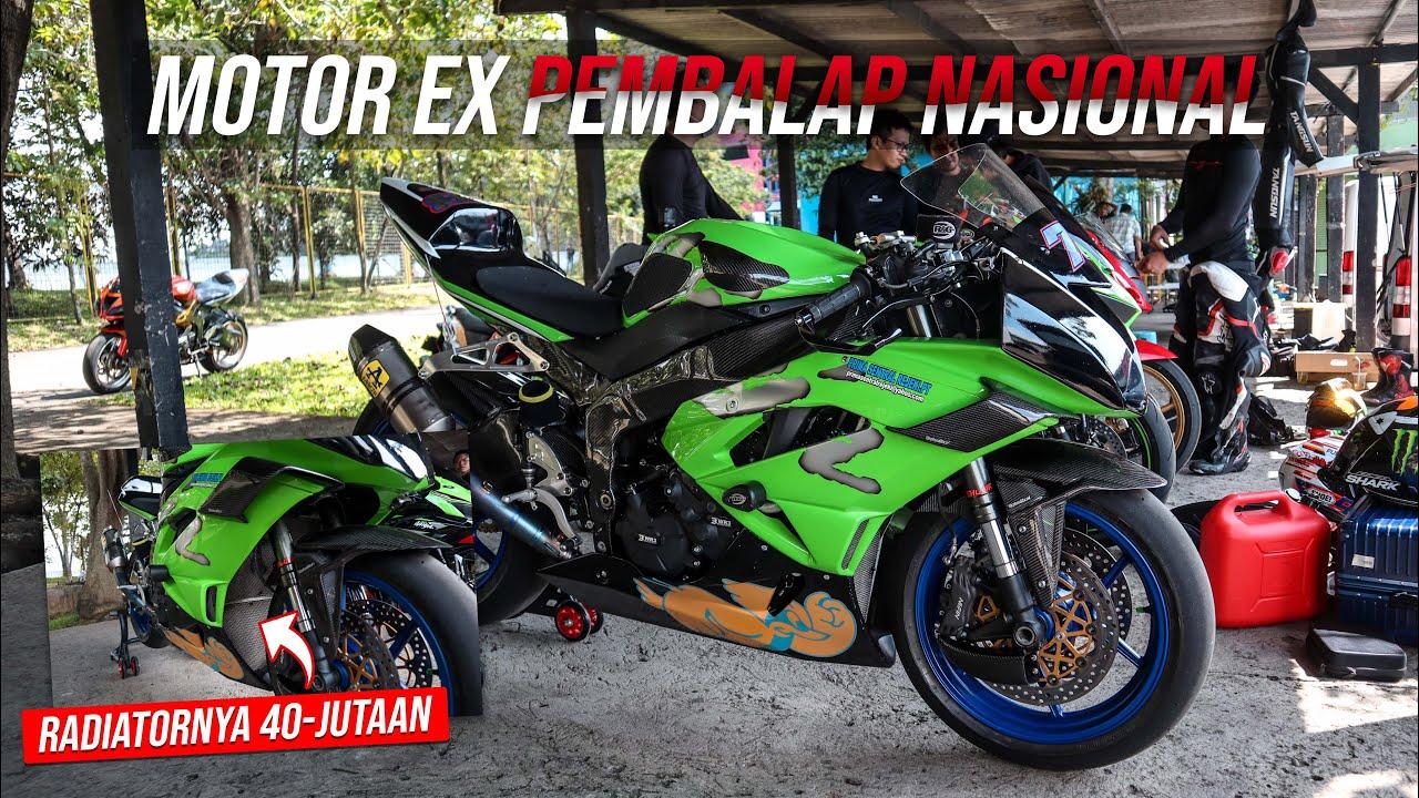 WALKAROUND ZX6R Ex AHMAD YUDHISTIRA Pembalap Kawasaki