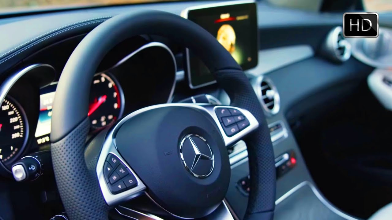 2017 Mercedes Benz Glc Coupe Suv Brilliant Blue Interior Design Hd