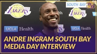 Lakers Nation Interview: Andre Ingram On Getting Called Up Last Year & Playing Fortnite w/ Teammates