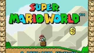 super mario world yoshi theme