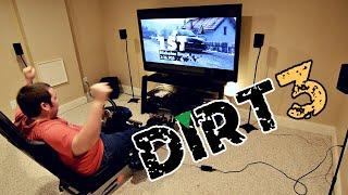 My PS3 Racing Setup and Some DiRT 3 Fun