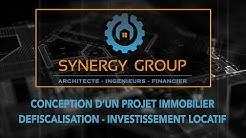 Conception d'un Projet Immobilier - Investissement Locatif - Défiscalisation - Réalité Virtuelle