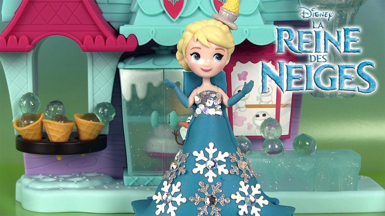 Pâte à Modeler Reine Des Neiges Petit Royaume Play Doh Frozen Little Kingdom Arendelle Treat Shoppe Youtube