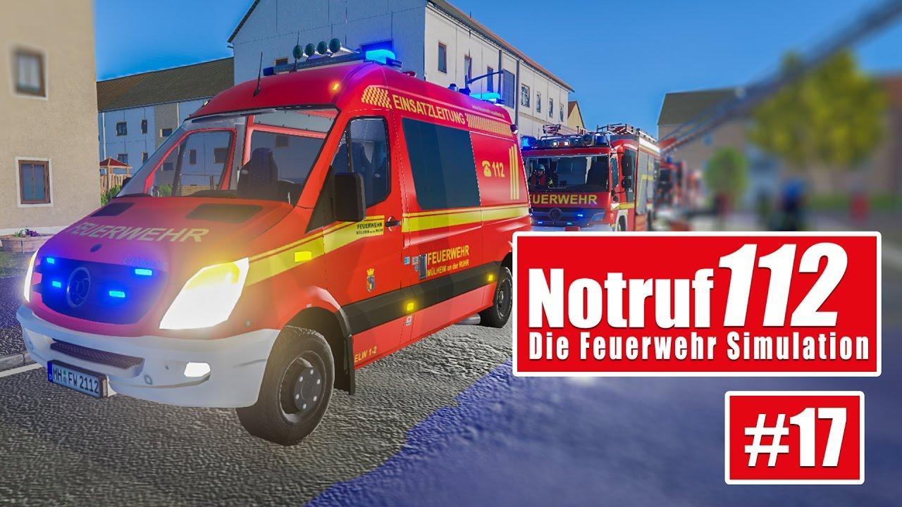 NOTRUF 112 #17: Verkehrsunfall und Heimrauchmelder! I Gameplay ...