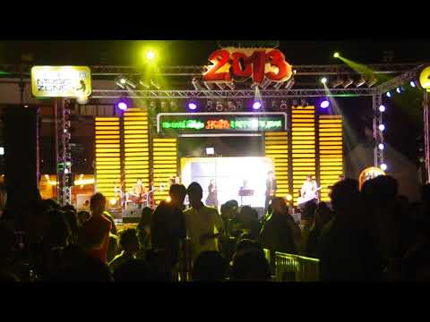Laos Music Festival Count down to 2013, Vientiane