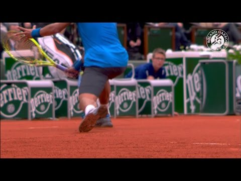 Roland-Garros 2016 - How to slide on clay