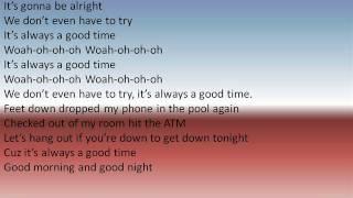 Good Time - Owl City and Carly Rae Jepsen lyrics Mp3
