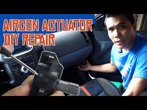 Ford Ranger, Everest, Mazda BT-50 [AIRCON ACTUATOR DIY REPAIR] FILIPINO (tagalog) Version