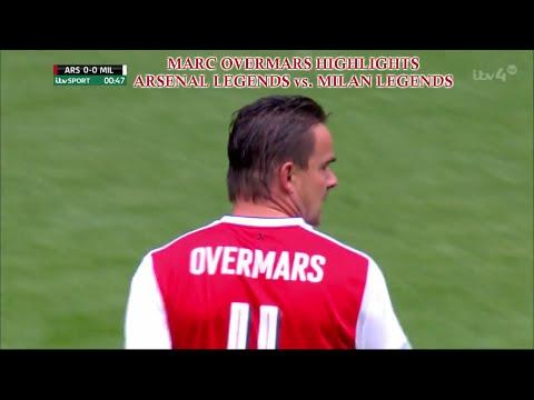 Marc Overmars   Highlights Skills Goals   03/09/2016 (Arsenal Legends vs Milan Legends)   HD