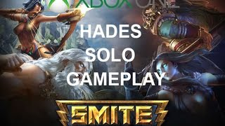 """WE GOT WRECKED"" Smite - Hades Solo Gameplay (Xbox One)"