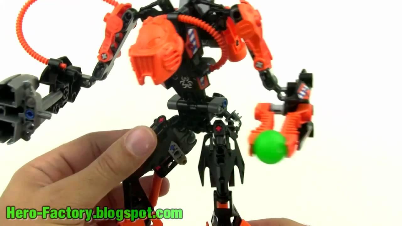 Lego Hero Factory Rotor Review Youtube