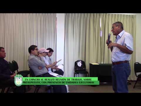 UGEL CHINCHA ORGANIZA REUNIÓN DE TRABAJO SOBRE MODIFICATORIA PRESUPUESTAL
