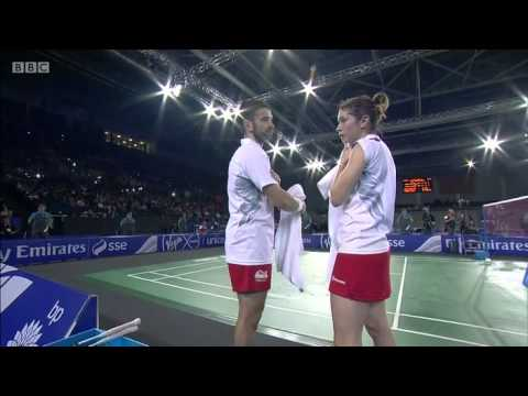 XD Gold - ENG vs ENG - 2014 Commonwealth Games badminton