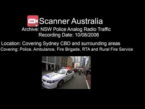 NSW Police Analog - Recording date: 10/8/2006 - Police & Emergency Services Part 3