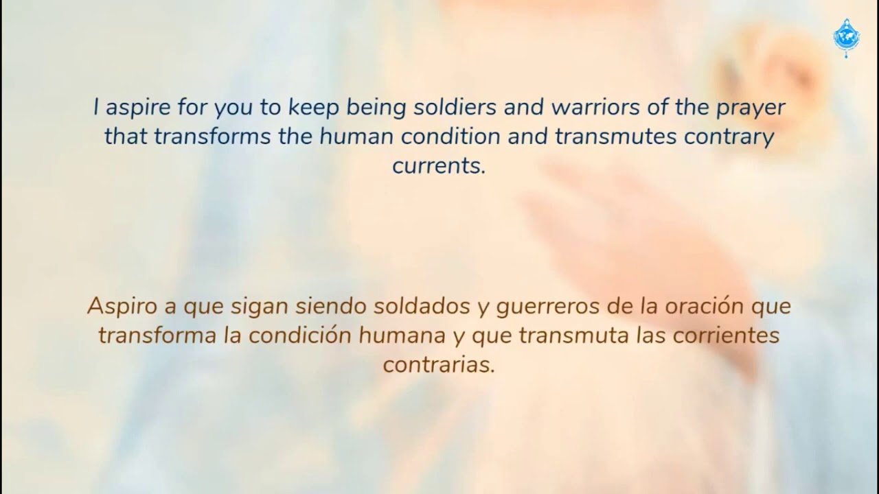 """Mensaje Virgen María último 240720  Mensajes verídicos sobre la """"Segunda venida de Jesucristo"""""""