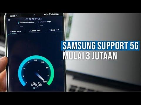 5 Smartphone Samsung yang Sudah Mendukung 5G Terbaru 2021