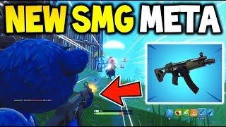 Fortnite *NEW* SMG META + GAMEPLAY - How To Win With The NEW SMG (Fortnite Battle Royale)