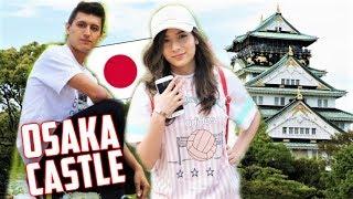 OSAKA CASTLE with my girlfriend! JAPAN VLOG!