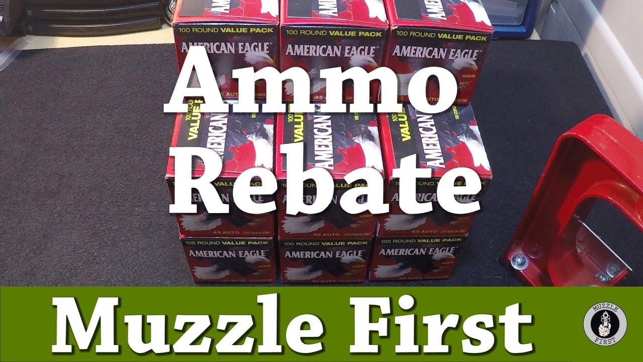American Eagle Rebate >> Federal Ammo Rebate Offer American Eagle Ae45aplac Ammo Rebate