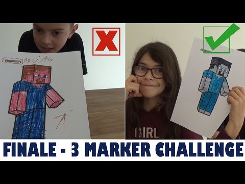 3 MARKER CHALLENGE, LA FINALE