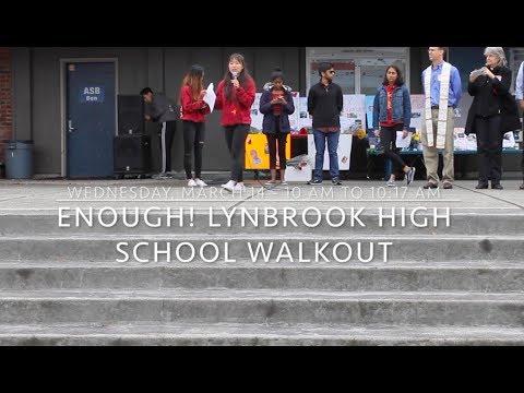 Enough! Lynbrook High School Walkout