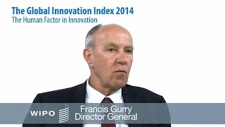 Global Innovation Index 2014 - Highlights from WIPO DG Gurry