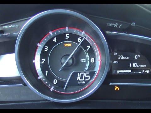Mazda 3 sp25 0 100km h