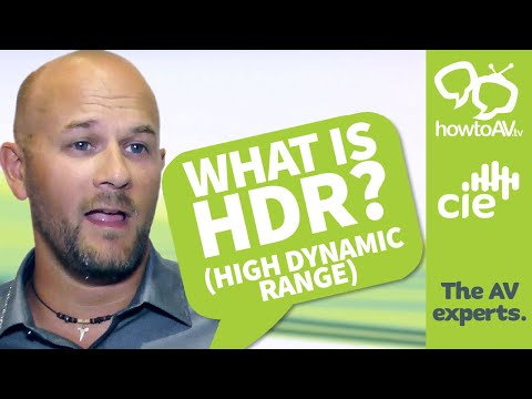 What is Video HDR (High Dynamic Range)?