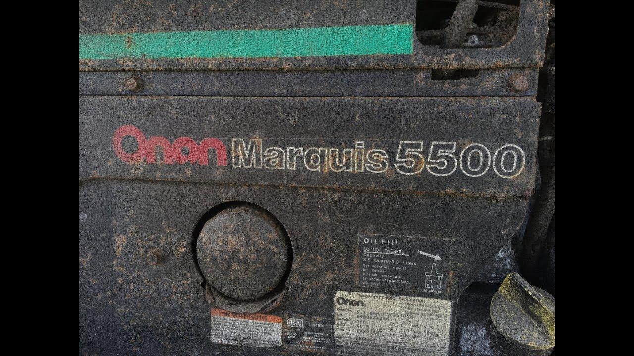 Onan Marquis Generator - No Spark on