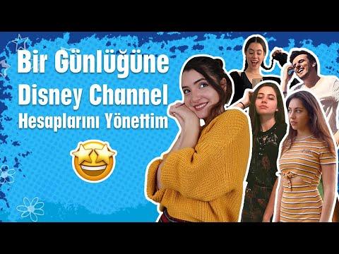 Umut Ada Bir Günlüğüne Disney Channel Hesaplarını Yönetti 😋 | Disney Channel Türkiye