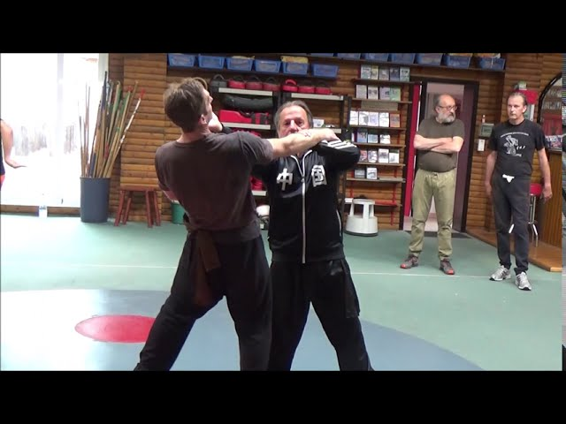 Exclusive GM Walter Toch selfdefense from Taiji Chen live !