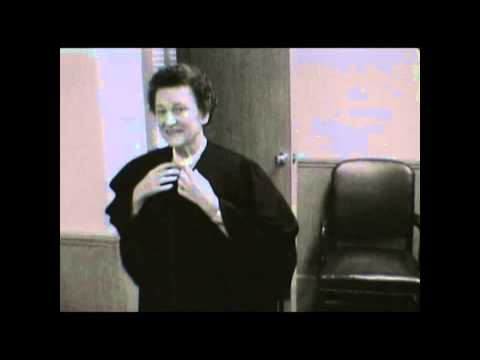 Judge Hughes - First female federal district judge in Texas, 1961.