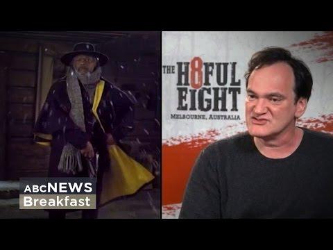 Tarantino talks Hateful Eight, Oscars