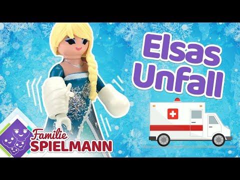 UNFALL!! Was passiert Elsa?? Playmobil Familie Spielmann Geschichten für Kinder