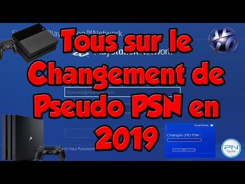 Tous sur le changement de Pseudo PSN en 2019 (ID PSN) (PS4)