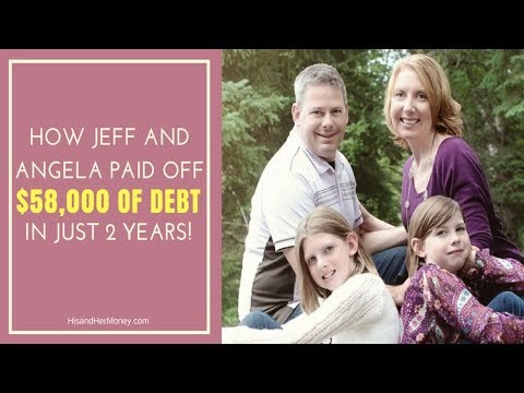 How Jeff and Angela Paid off $58,000 of Debt in Just 2 Years