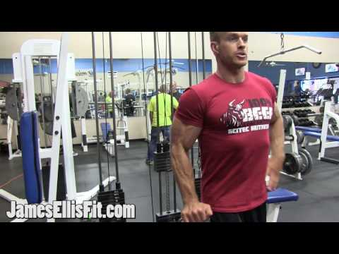 Single Arm Reverse Grip Cable Bicep Curl
