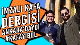 Yazarlardan İmzalı KAFA Dergisi Ankara'daydı! #kafayıbul