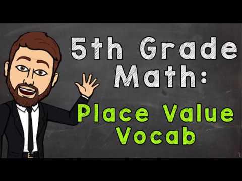 Place Value Vocab   5th Grade Math