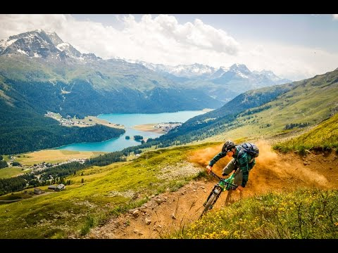 Flowtrails in St.Moritz